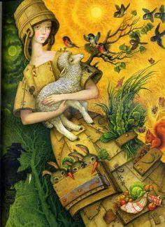 Катерина Штанко- Russian folk painting