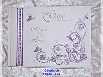 Gästebuch zur Hochzeit,Gästebuch,Farbwunsch, 64