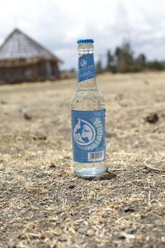 Trink' Wasser für Trinkwasser. Äthiopien.