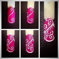 Nail art tutorial. Дизайн ногтей тут! ♥Фото ♥Видео ♥Уроки маникюра