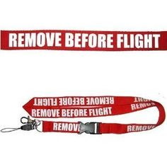 Defence Gifts - Remove Before Flight Lanyard, $4.50 (http://www.defencegifts.com.au/remove-before-flight-lanyard/)