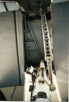 port main gear strut and linkage KC-10-98-17-8 by wbaiv, via Flickr