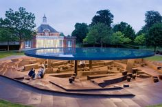 SERPENTINE GALLERY PAVILION 2012 BY HERZOG
