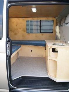 Raumkunstbus 2 Der Ausbau Campingbus Campingbus Vw
