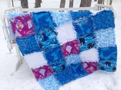 Hey, I found this really awesome Etsy listing at https://www.etsy.com/listing/209526217/frozen-rag-quilt-elsa-rag-quilt-anna-rag