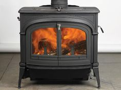 Vermont Castings Wood Stove - absolutely beautiful!