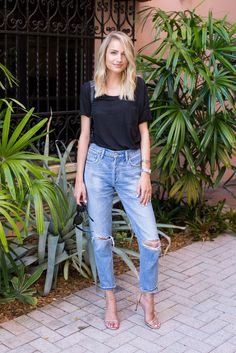 Little Blonde Book by Taylor Morgan | A Life and Style Blog : Occasion Dressing: Tees
