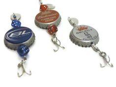Spinner Bottle Cap Fishing Lure  Set of 3 Budweiser  by BaitPro, $10.00