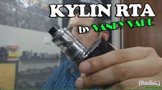 Kylin RTA by Vandy Vape + build - BasilisL (Greek Reviews)