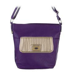 The #GraceAdele Peyton-Grape Bag with the Reese-Metallic Clutch. Http://kwallen.graceadele.us