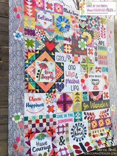 Dear Daughter Quilt Pattern 72 X 90