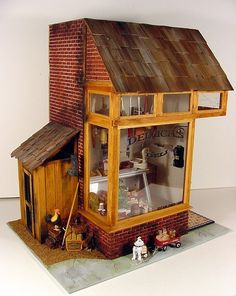 Hey, you have a Dollhouse village, so you need a Deli in the village!