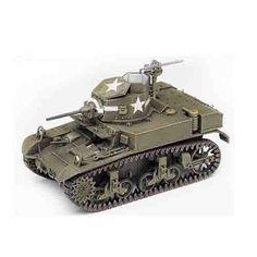 """Armored Car Tank Military Model 1/35 """"British M3 Stuart Honey"""" #TA991"""