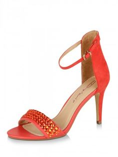 DOLCIS Diamante Strap Stilettos purchased on koovs