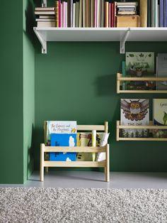 Biblioteca para principiantes. #aulas #escritório #decoração #ikeaportugal