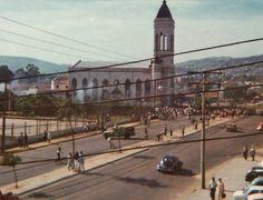 Igreja São Jorge, Bairro Partenon, Porto Alegre, Rio Grande do Sul - anos 70