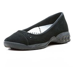 Therafit Shoe Womens Rio Ballet Flat 10 Black ** Check out this great product. Note:It is Affiliate Link to Amazon.