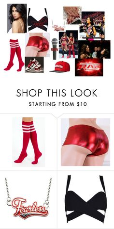 """""""Monday Night Raw AJ Lee calls the Bellas Fake."""" by safia4life ❤ liked on Polyvore featuring Monday, WWE, TNA, Ryder, NIKE and Pyle"""