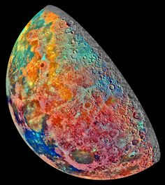 It's absolutely baffling that we've reached a level where we can not only study the geology of the Earth, but also that of other bodies in the solar system