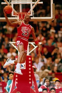 Michael Jordan, the best player to ever play the game of basketball and my IDOL. I am an avid Chicago Bulls fanatic. In my free time I watch the NBA hardwood classics TV show where they show all the best basketball games from the 90's, which were dominated by MJ. Not to mention I was born when Michael Jordan hit his famous cross over fade away over against the Utah Jazz.
