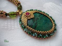 Amazing pendant. This blog has some beautiful designs