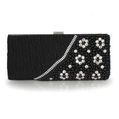 Beautiful Silk Handbag With Nice Beading And Rhinestones With Cheapest Price $43.98 Offered By Prinkko