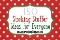Jenna's Journey: 150 Stocking Stuffer Ideas!