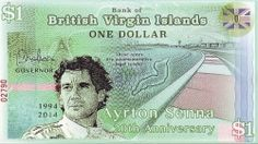 British Virgin Islands 2014 1 Dollar. 20 Years since the death of Ayrton Senna (1960-94). Ayrton Senna was a Formula 1 grand prix driver from Brazil who was killed while racing in Italy.