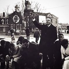 "March 7, 1965. This photograph(By Spider Martin) depicts Andrew Young praying with John Lewis, Hosea Williams and Amelia Boynton across From Brown Chapel #AME Church before the March began. ""Andy stayed at the church thinking they would probably be turned around"" (Quote From Spider Young) #stevenkashergallery #SundayBloodySunday #Selma #BlackHistory #CivilRights"