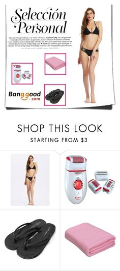 """16/2 # Banggood"" by hazreta-jahic ❤ liked on Polyvore"