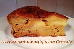 Gateau léger au Yaourt et Pommes WW au Thermomix - Le chaudron magique