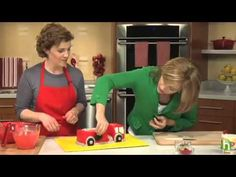 How to make a fire truck cake - Fire engine birthday cake