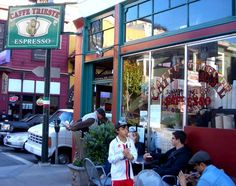Caffe Trieste. Francis Ford Coppola wrote much of the screenplay for The Godfather here.