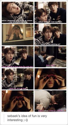 Oh this drama knows how to hit us in the place where we like it. I guess SeBaek Is about to become as popular as HunHan