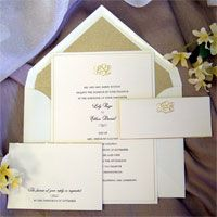 We love C'est Papier invitations.