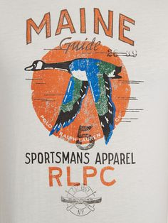 Polo Ralph Lauren Polo Player Crew Neck Tshirt in Beige for Men (Cream) | Lyst