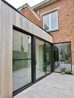 Rear Extension, Piano Room, House Extensions, Patio Doors, Home Living Room, Home Deco, Sweet Home, New Homes, Exterior