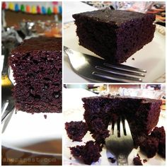 One Bowl Chocolate Mayonnaise Cake.  An old amish recipe for a chocolate cake that is so moist it doesn't even need frosting. And by mixing it all in one bowl, there are less dishes to wash!