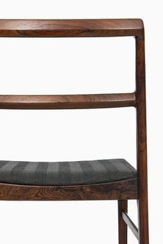 Arne Vodder dining chairs model 430 in rosewood at Studio Schalling