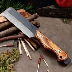 Great Versatile XHD Chisel Knife - Its the ultimate hybrid, incorporating features of a knife, chisel, hatchet, cleaver, pry bar, hammer, and rescue tool. Its a jobsite or campsite Do-Everything Tool. Its even great for demolition - Helle knives