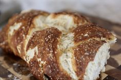 HOMEMADE PRETZEL CHALLAH BREAD:  I recently tasted the most delicious homemade Pretzel Challah Bread my friend, Paula, brought to a get-together I attended. The crispy pretzel crust sprinkled with coarse salt was such a great complement to the soft inside of the bread! There is nothing like piping hot, fresh bread out of the oven. I had fun making …