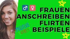👩❤️💋👨 Frauen anschreiben flirten Beispiele 🤴 - Männlichkeit stärken -...