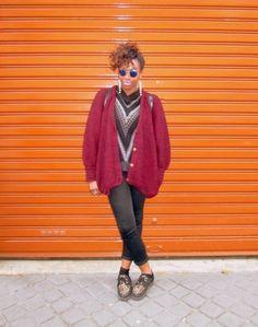 NEW LOOK Chaussures divers -  VERO MODA Gilet -  NEW YORKER Lunettes de Soleil #women #mode #look #streetstyle http://www.moodlook.com/look/fashion-2014-03-31-france