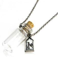 drink me bottle | ... Alice in Wonderland Drink Me Bottle Necklace | Shop food| Kaboodle