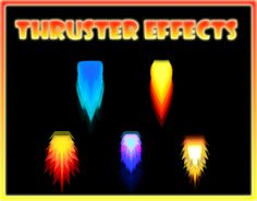 """Check out new work on my @Behance portfolio: """"Thruster Effects"""" http://be.net/gallery/36668451/Thruster-Effects"""