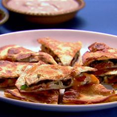 Try this Anna's Quesadillas recipe by Chef Anna Olson. This recipe is from the show Fresh.