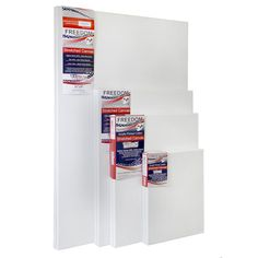 US Art Supply Professional Quality Medium 12oz Primed Stretched Canvas (2 Pack) 8 x 10 Inch