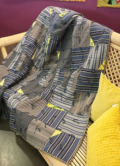 Pamela Goecke-Dinndorf Shirt Quilts, Striped Fabrics, Fabric Patterns, Fabric Design, Plaid, Pictures, Inspiration, Scrappy Quilts, Button Up Shirts