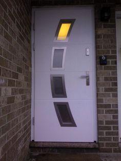modern front doors uk