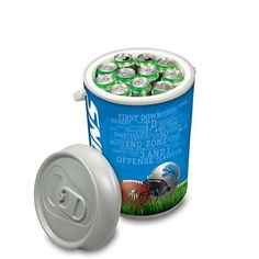 Detroit Lions Insulated Mega Can Cooler w/Digital Print